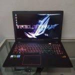 Jual laptop bekas asus rog strix gl553vd surabaya